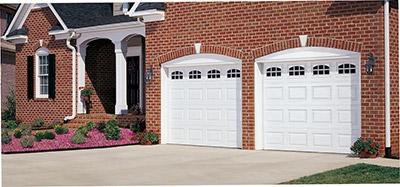 standard style garage door