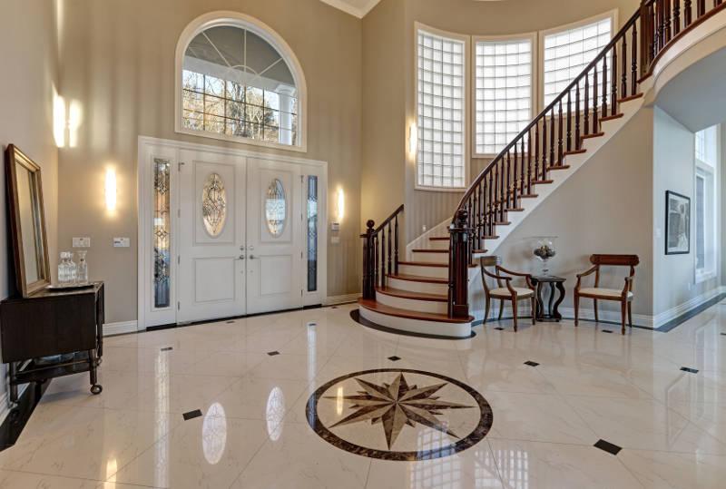 fiberglass door interior